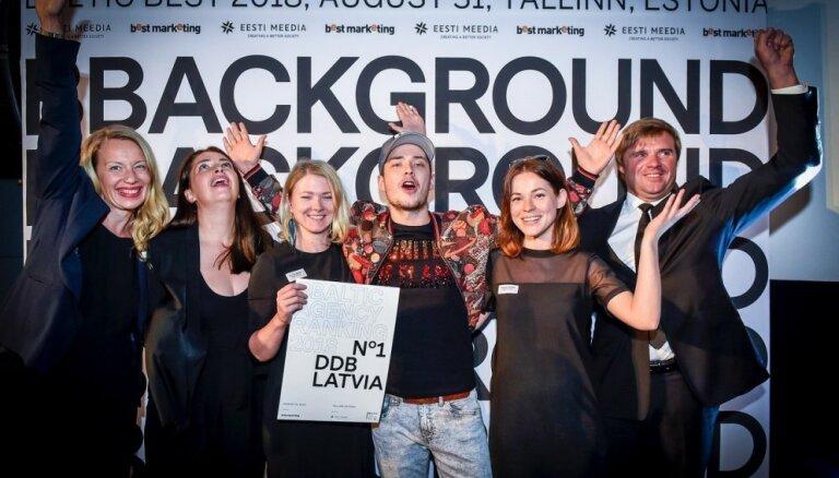 Latvija pirmo reizi uzvar Baltijas reklāmas aģentūru reitingā