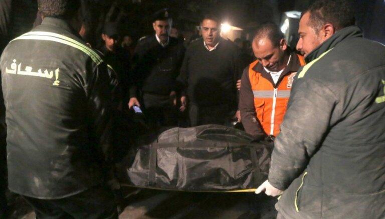 Sprādzienā policijas reida laikā Kairā gājuši bojā seši cilvēki