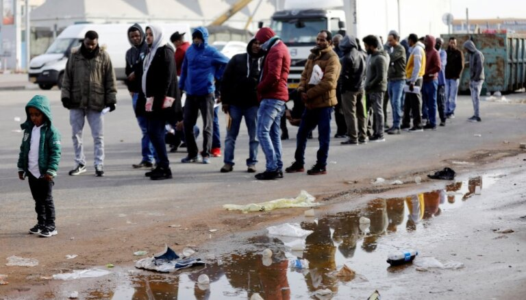 Израиль намерен отправить тысячи африканцев в западные страны