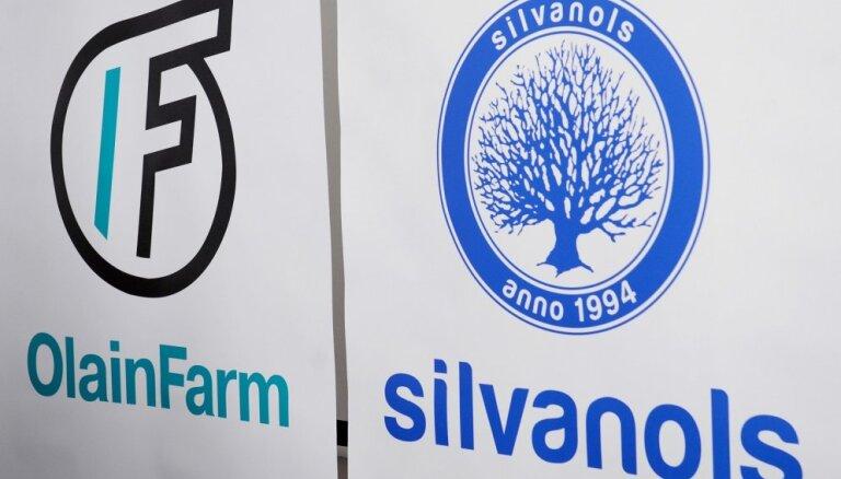 'Olainfarm' valde veic izmaiņas 'Silvanols', 'Latvijas aptieka' un 'Tonus Elast' valdēs