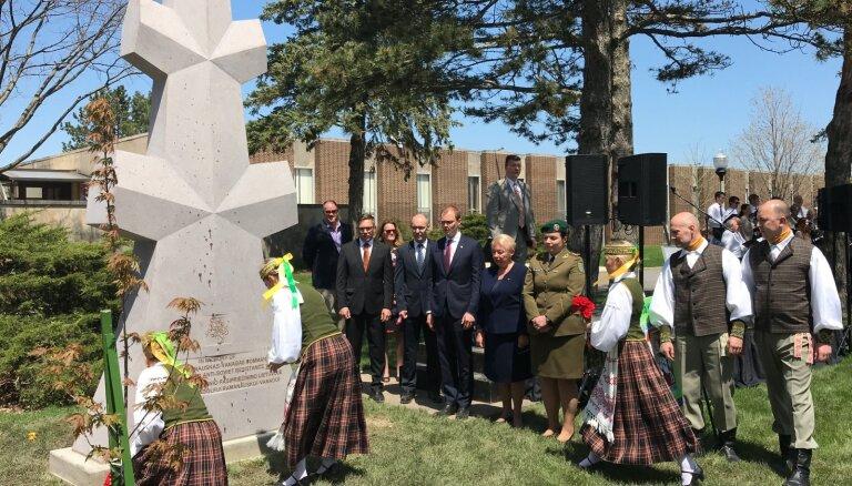 Литовский памятник в США вызвал дипломатический скандал