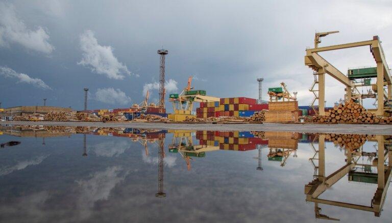 Грузооборот Рижского порта за три месяца уменьшился на 15,3%