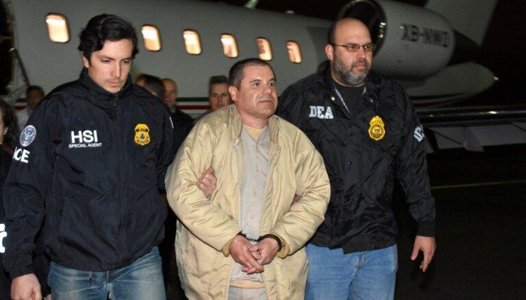 ASV tiesa 'El Čapo' piespriež mūža ieslodzījumu