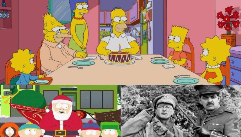 Publicēts 100 pasaulē labāko komēdijseriālu saraksts, līderpozīcijā – 'Simpsoni'