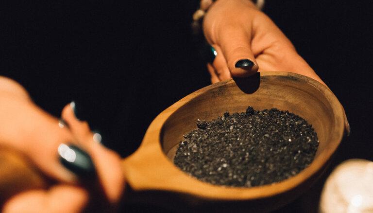 Melnā sāls – veselībai, saticībai, enerģētiskajai aizsardzībai