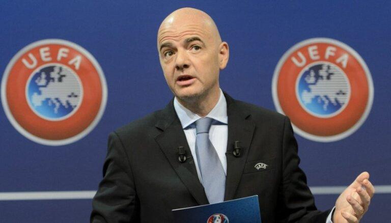 УЕФА подстраховался, выдвинув запасного кандидата на пост главы ФИФА