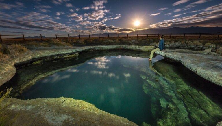Brīvdabas spa: baseini ASV, kas pārsteidz ar kristāldzidro un silto ūdeni
