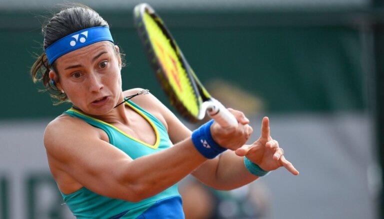 Севастова снялась с московского турнира из-за травмы ноги