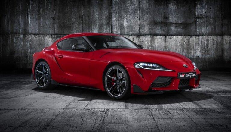 'Toyota' prezentējusi kopā ar BMW izstrādāto jauno 'Supra' modeli