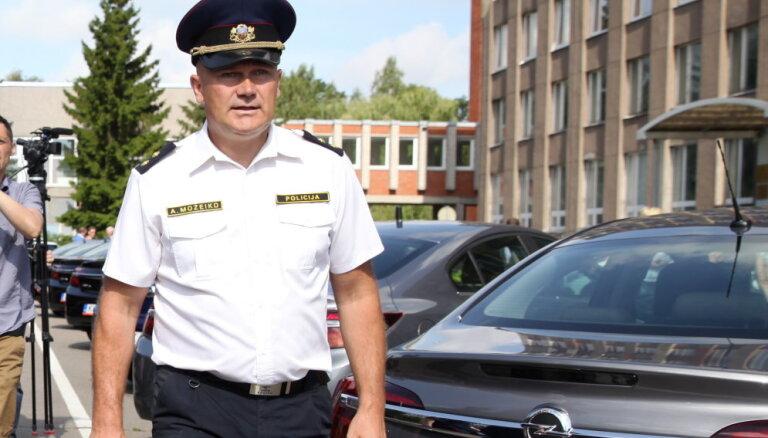Raidījums: Možeiko policijas resursus tērējis privātā BMX trasē