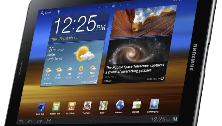 'Apple' tiesā panācis 'Samsung' planšetes aizliegumu ES
