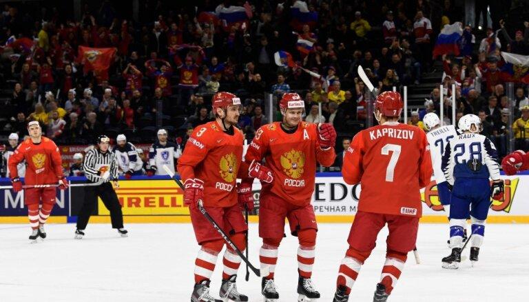 ВИДЕО: Сборная России забросила 7 шайб австрийцам, Швеция и Швейцария взяли по 3 очка
