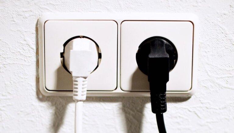 Purvciemā atjaunota elektrības piegāde