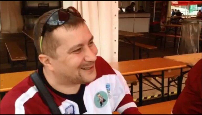 Video: Latvijas fani vērtē pirmās spēles un prognozē turpinājumu