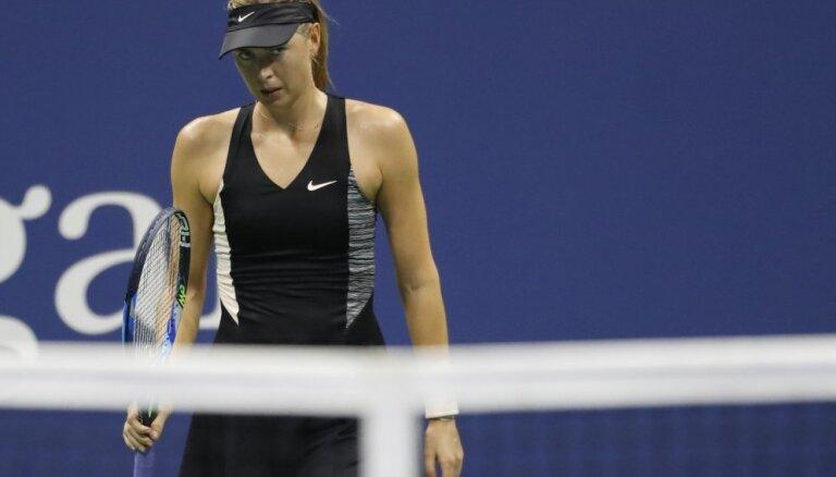 Šarapova un Federers izstājas no 'US Open'