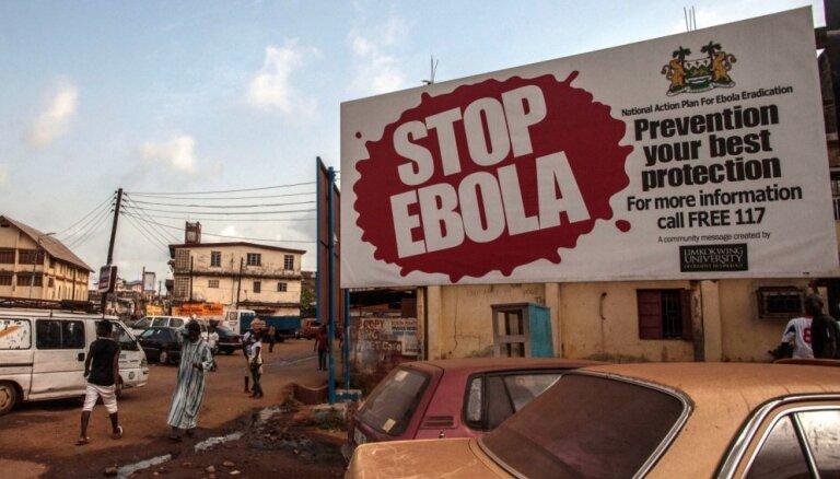 Ebolas vīrusa uzliesmojumā Kongo DR mirušo skaits pārsniedzis 2000