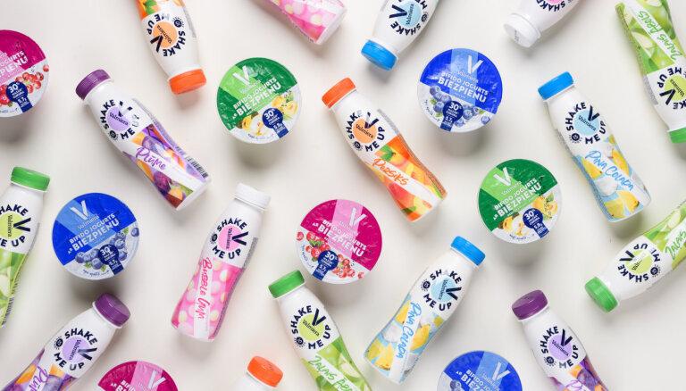 Food Union выпустил новые йогурты под брендом Valmiera