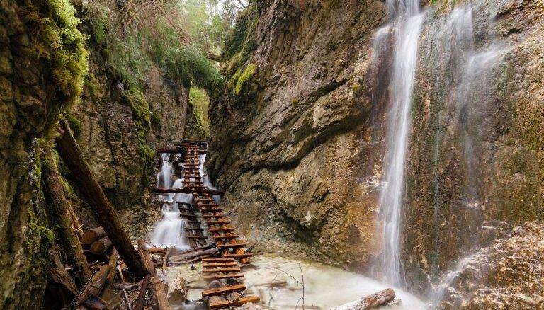 Slovākijas dārgums – Piekūnu ieleja un tās daudzie ūdenskritumi