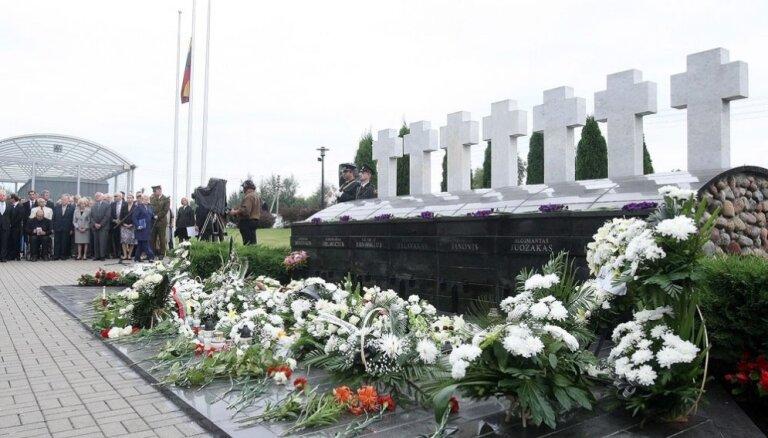 Трагедия в Медининкай: руководители Литвы призывают не забывать о нападении омоновцев