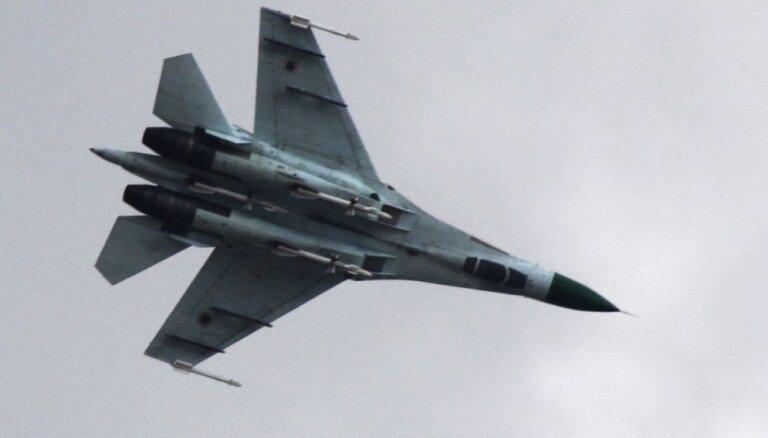 У берегов Крыма упал в море российский истребитель