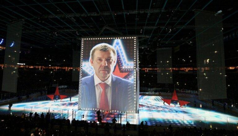 Znaroka un Vītoliņa SKA nonāk uzvaras attālumā no triumfa Gagarina kausa izcīņā