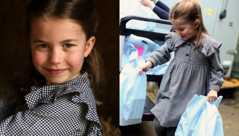 Foto: Kā britu princese Šarlote svin savu piekto dzimšanas dienu