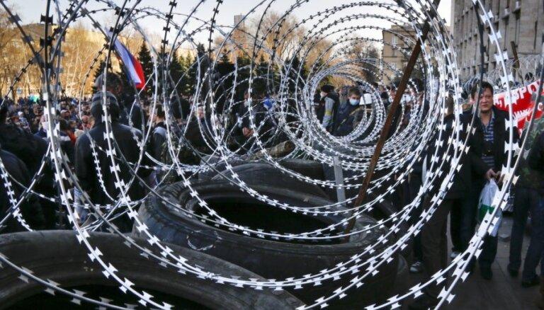 Mēģinājumi destabilizēt situāciju Ukrainā nāks par sliktu pašai Krievijai, brīdina ASV