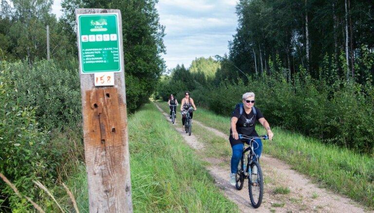 18. un 19. septembrī norisināsies 'Zaļā ceļa Rīga-Pleskava' iepazīšanās velobraucieni