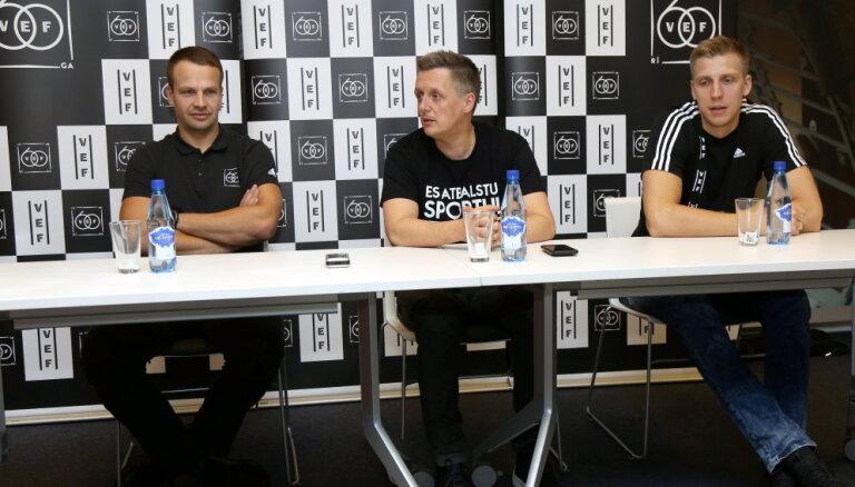 'VEF Rīga' gaidāmajā sezonā tēmēs uz divu titulu izcīnīšanu