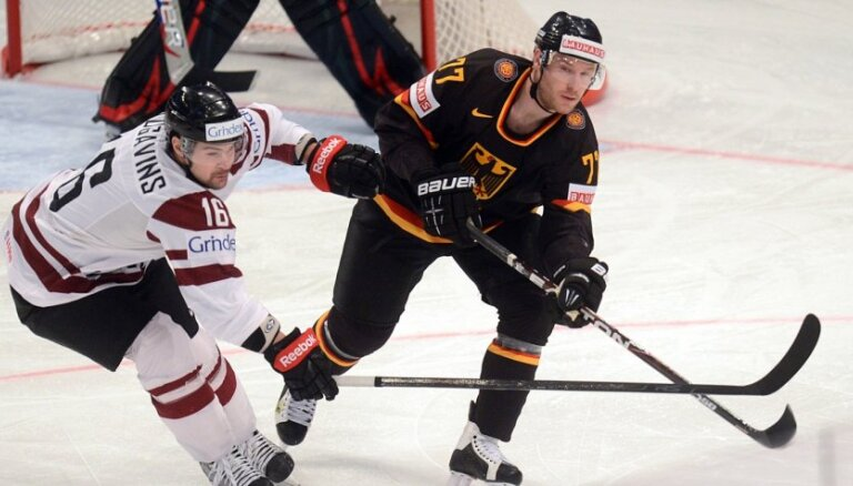 PČ hokejā: Latvija - Vācija 3:2 (spēle noslēgusies)