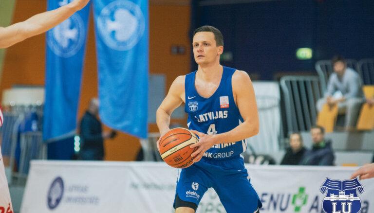 LU basketbolistiem cienījamas 25 minūtes pret Igaunijas čempioniem 'Kalev/Cramo'
