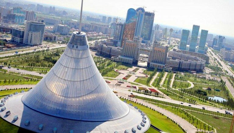 Kazahstāna ierosina Latvijai veidot kopīgu loģistikas centru uz Ķīnas robežas
