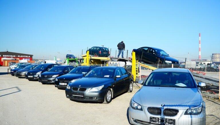 Rosinātais reģistrācijas nodoklis attieksies tikai uz jaunievestiem automobiļiem