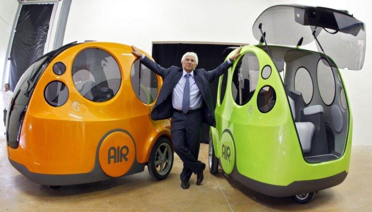 Tata запустит в серию трехколесный пневматический AIRPOD