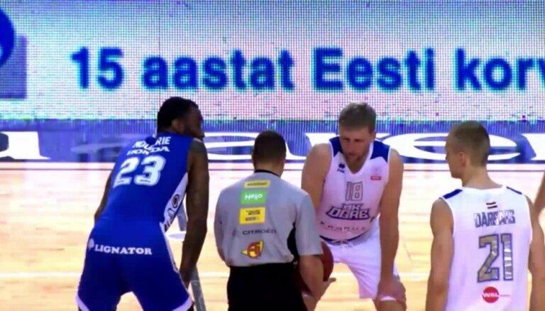 Video: 'Ogres' bezbailīgā cīņa ar Igaunijas čempioniem 'Kalev/Cramo'