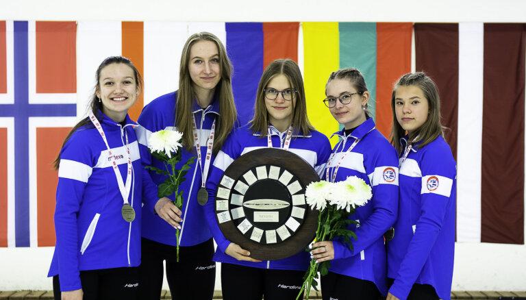 Latvijas sieviešu čempionātā uzvar 'JKK/Barones' junioru komanda