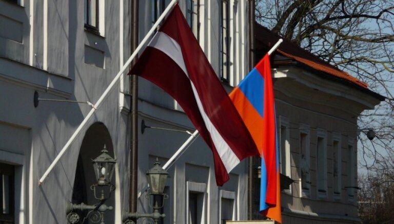 На следующей неделе Латвию посетит министр иностранных дел Армении
