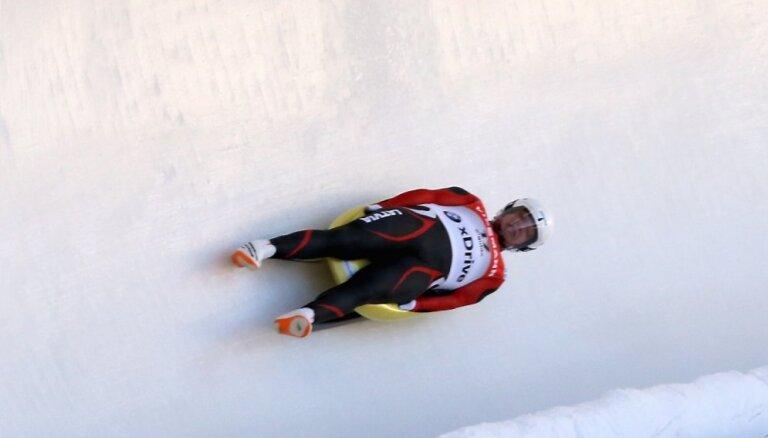 Kamaniņu braucējs Rozītis ieņem 13. vietu Pasaules kausa posmā Vinterbergā