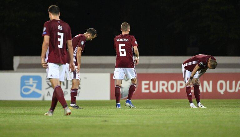 УЕФА возбудил дисциплинарное дело против сборной Латвии из-за расизма