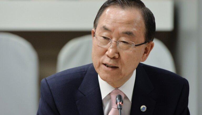 Пан Ги Мун предупредил о последствиях нарушения перемирия на Украине