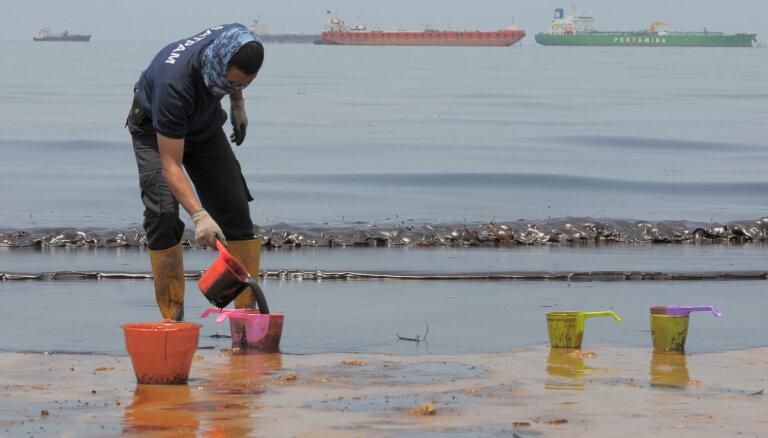 Кипр защищается от нефтяного пятна в Средиземном море после утечки в Сирии