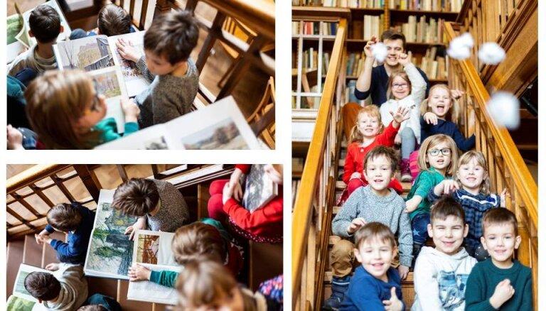 Latvijas Nacionālajā mākslas muzejā notiks nodarbības pašiem mazākajiem mākslas pētniekiem
