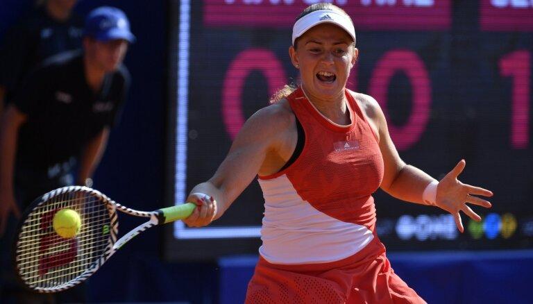 Ostapenko pakāpjas uz 29. vietu WTA rangā; ATP rangā neliels kāpums Gulbim