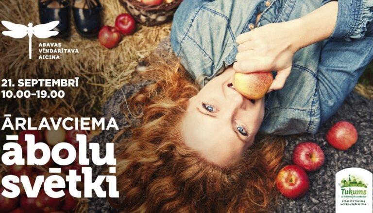 Hei, 21.septembrī nepaliec mājās un pavadi neaizmirstamu dienu ābolos