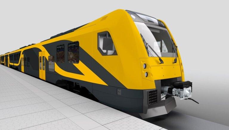 ФОТО: Как будут выглядеть новые латвийские электропоезда?