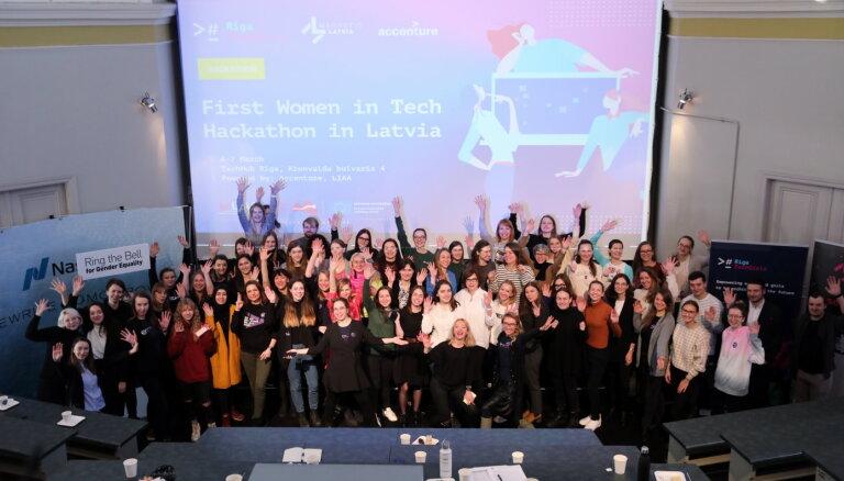 Sākas pieteikšanās starptautiskajam hakatonam 'Women. Technology. Sustainability.'