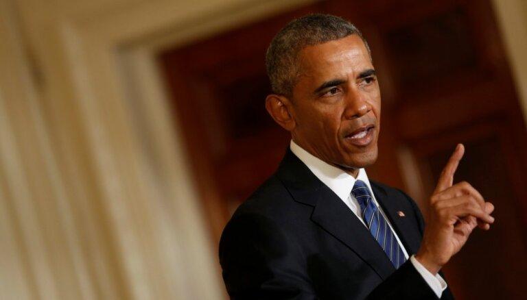 Obama: lai Baltijas valstis starptautiski uztvertu nopietni, tām jāapzinās savas vērtības