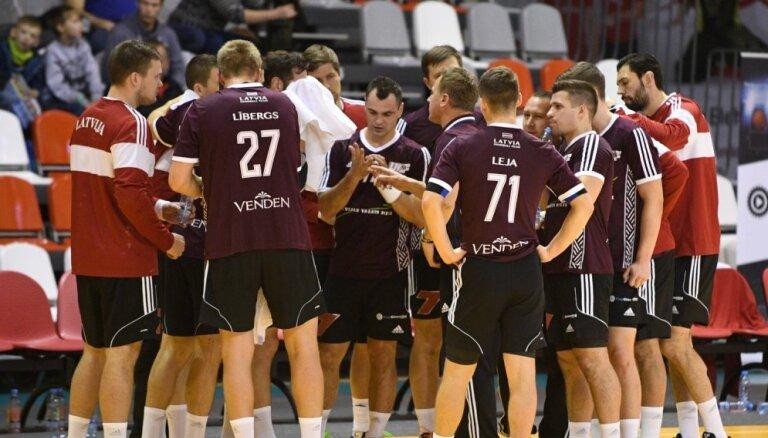 Latvijas handbola izlases kandidātu sarakstā EČ kvalifikācijas spēlēm iekļauj visus labākos spēlētājus