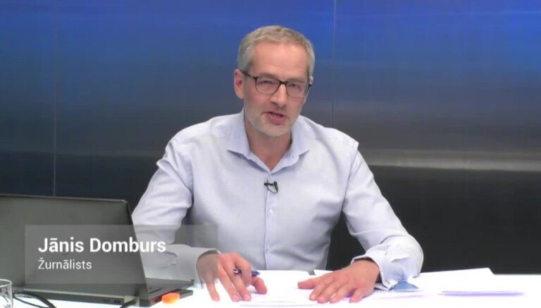 'Delfi TV ar Jāni Domburu' atbild 'Nacionālā apvienība' un 'Saskaņa'. Pilns ieraksts