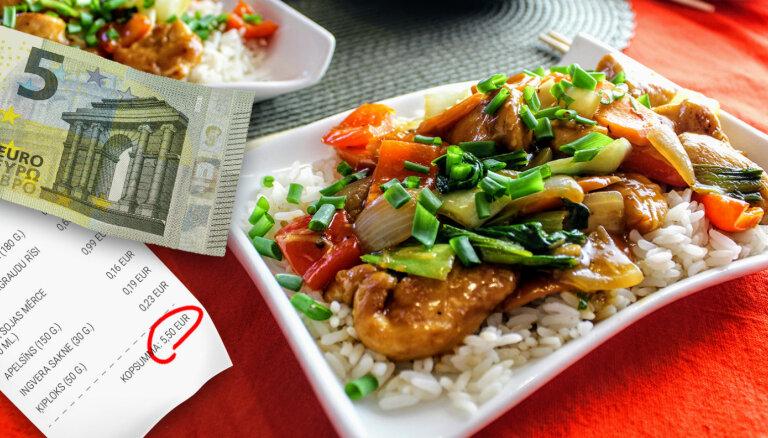 Kā par 5 eiro pagatavot ķīniešu restorāna cienīgas vakariņas ģimenei